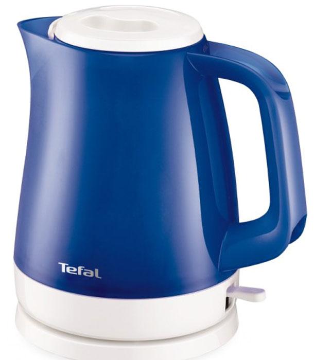 Tefal KO151430 чайникKO151430Электрический чайник Tefal KO151430 прост в управлении и долговечен в использовании. Изготовлен из высококачественных материалов. Прозрачные стенки чайника позволяют определить уровень воды. Фильтр препятствует попаданию накипи в воду. Мощность 2400 Вт позволит вскипятит 1,5 литра воды в считанные минуты. Беспроводное соединение позволяет вращать чайник на подставке на 360°. Съемная крышка. Рекомендуем!