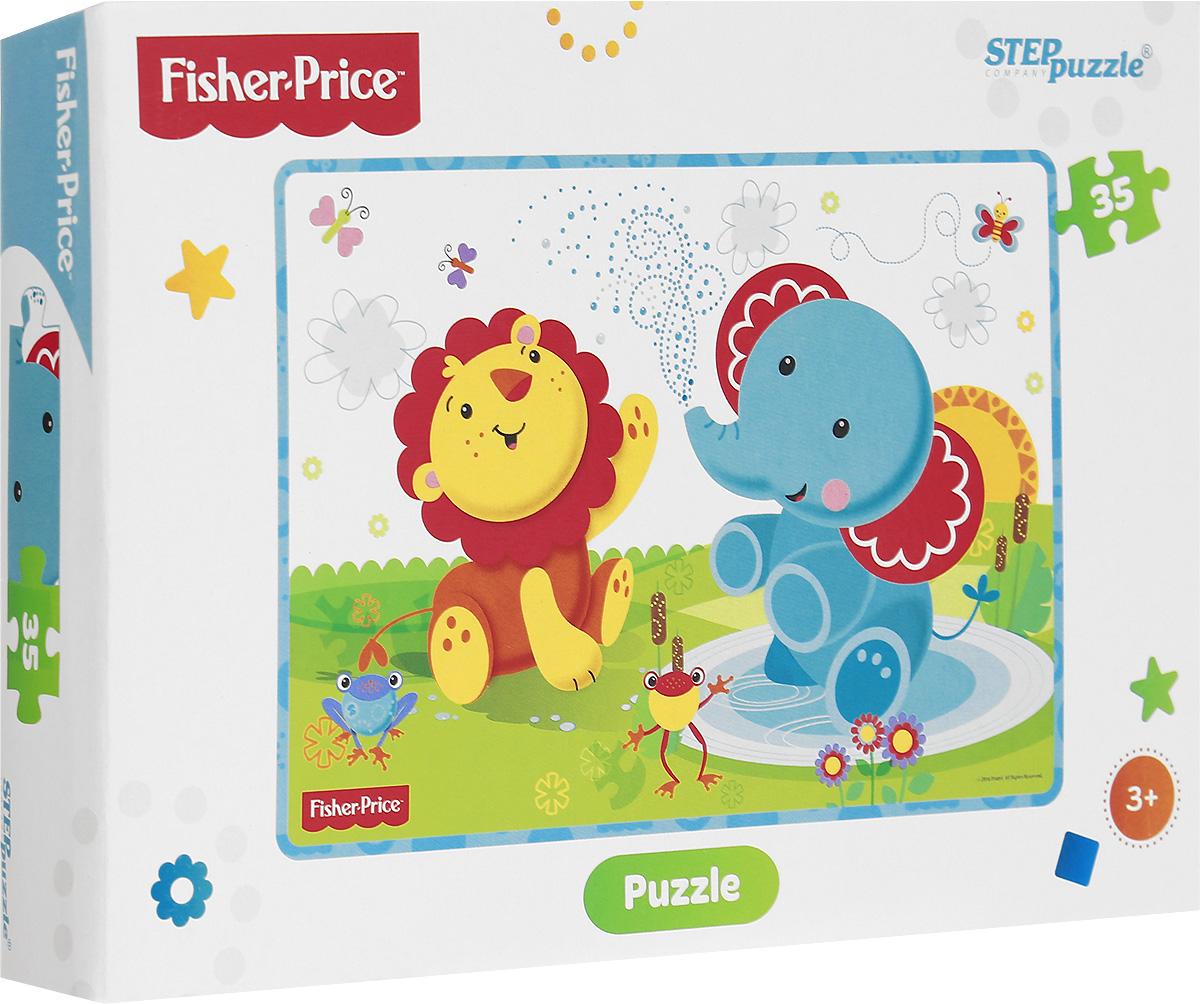Step Puzzle Пазл для малышей Fisher Price 91148 пазл для ванной 12 элементов fisher price