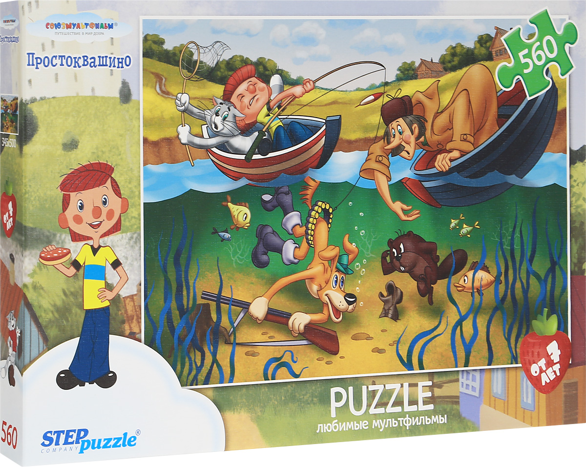 Step Puzzle Пазл Простоквашино 78083 step puzzle пазл простоквашино 73011