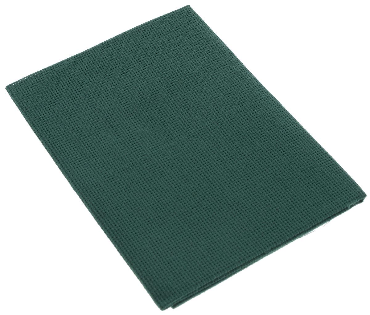 Канва для вышивания Астра Aida 16, цвет: зеленый, 50 х 50 см aida 16 594