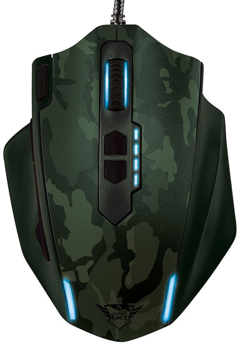 лучшая цена Игровая мышь Trust GXT 155, Green