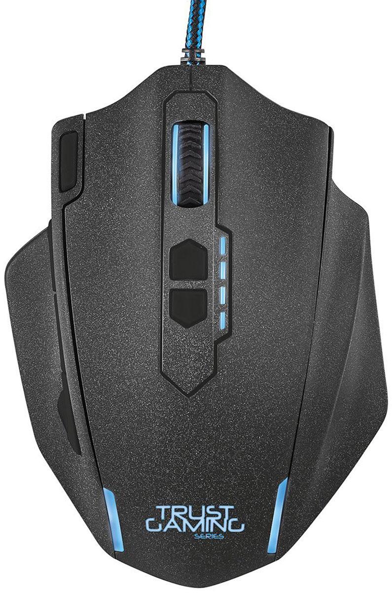 лучшая цена Trust GXT 155, Black игровая мышь