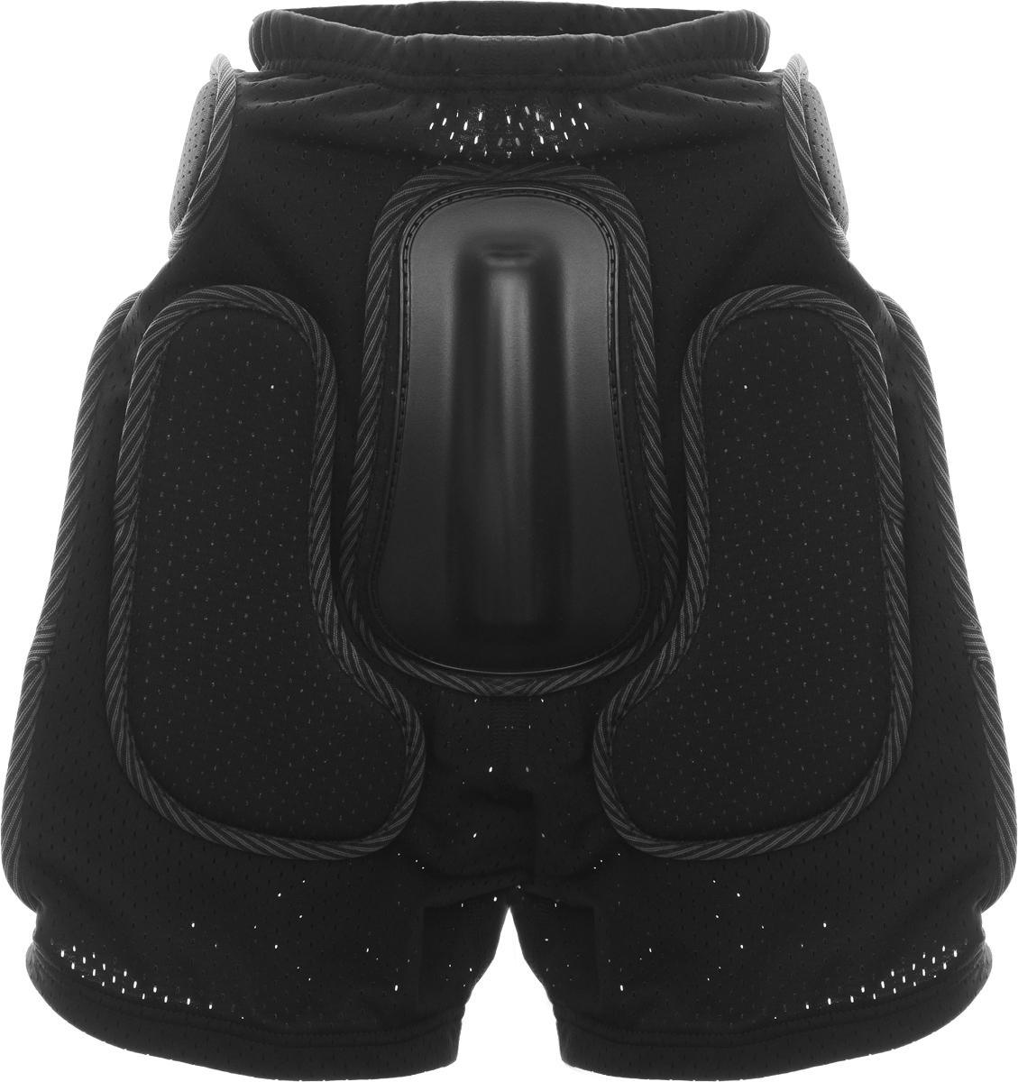 Фото - Шорты защитные Biont Комфорт, цвет: черный, размер S самосбросы горнолыжные biont цвет черный размер l 48 50