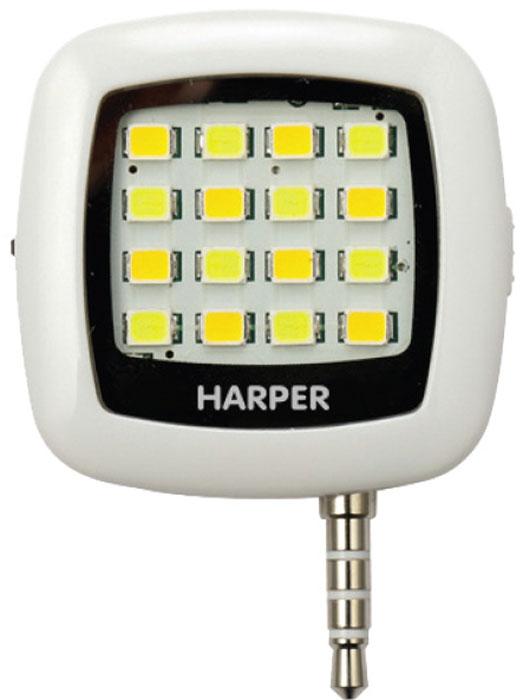 Harper SFL-001, White LED-фонарь для смартфонов цена