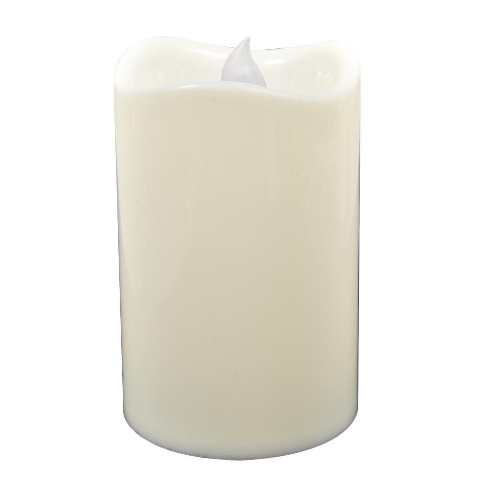 Свеча светодиодная Vegas Классика, 7,5 х 11,5 см свеча светодиодная vegas классика 3 8 х 4 см свет янтарный 2 шт 55047
