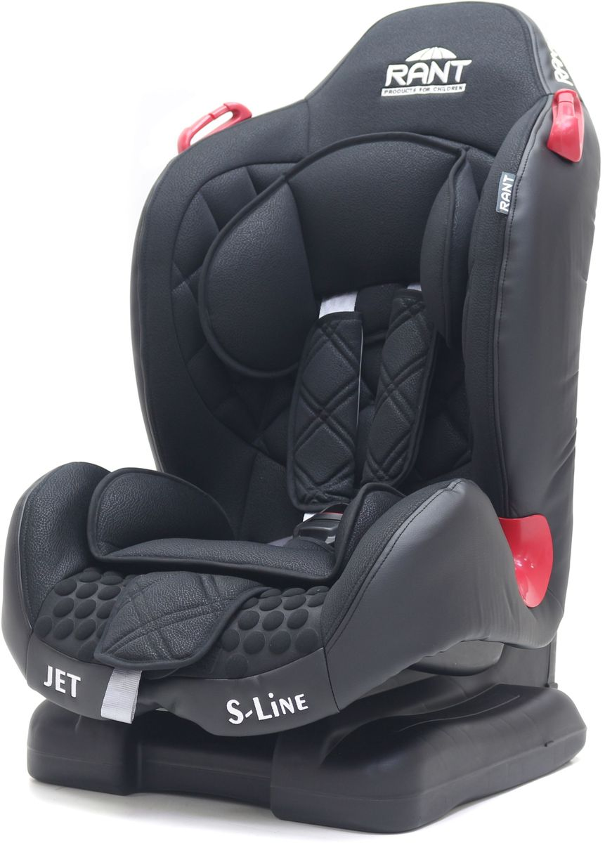 Rant Автокресло Jet цвет черный от 9 до 25 кг автокресло rant miracle red