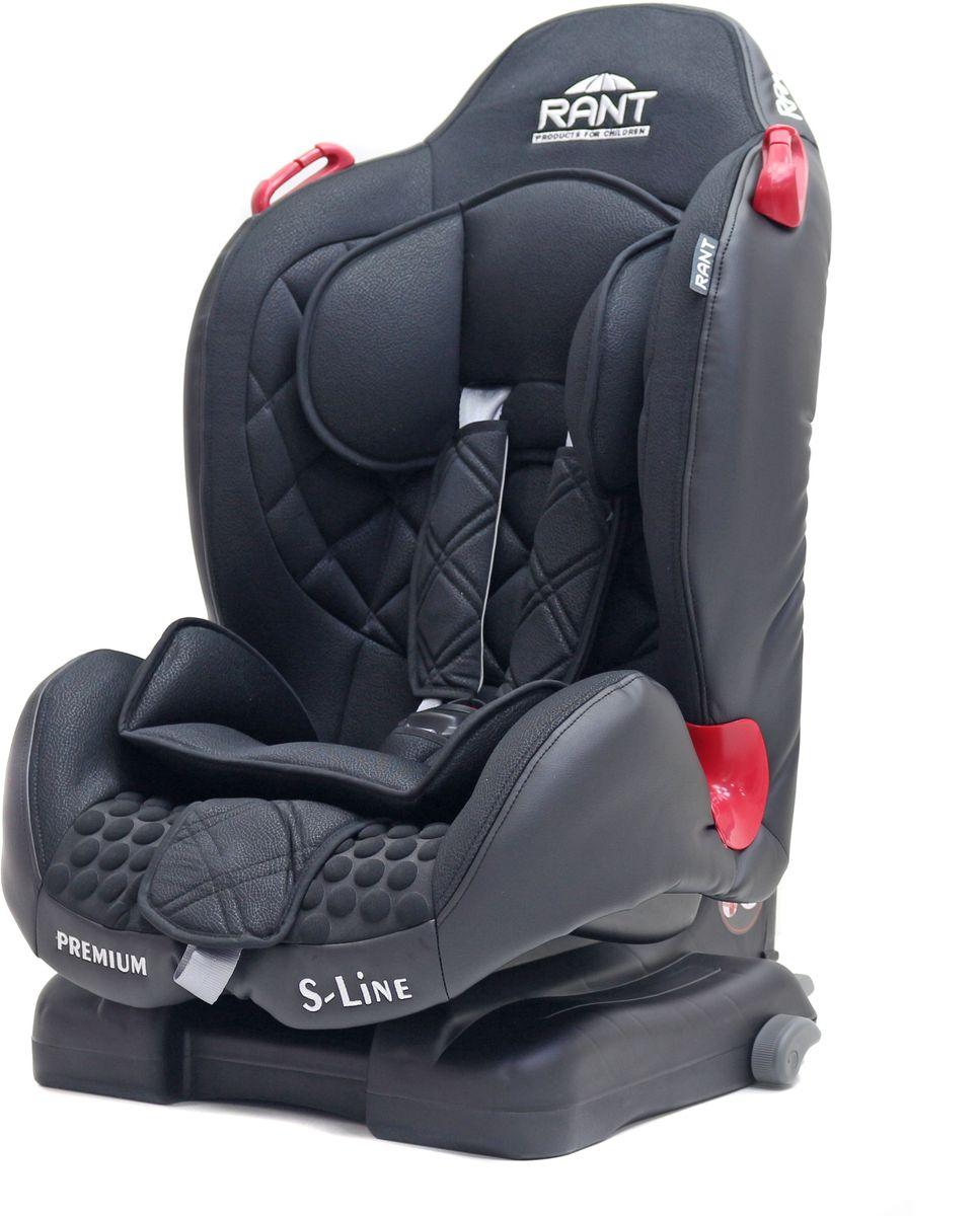 Rant Автокресло Premium Isofix цвет черный от 9 до 25 кг автокресло rant premium isofix grey