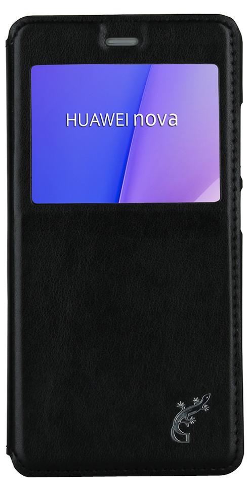 G-Case Slim Premium чехол для Huawei Nova, Black g case slim premium чехол накладка для huawei mate 10 lite nova 2i black