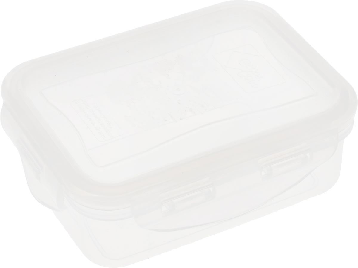 Контейнер пищевой Good&Good, цвет: прозрачный, 330 мл контейнер пищевой good