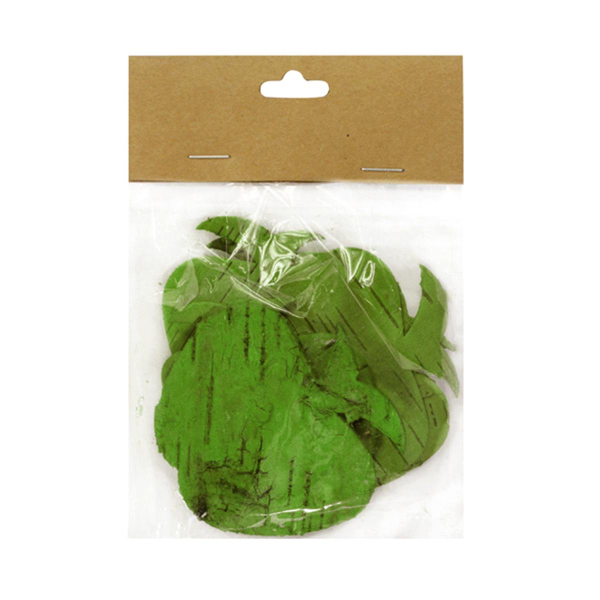 """Декоративный элемент Dongjiang Art """"Яблоко"""", цвет: зеленый, 8 шт"""