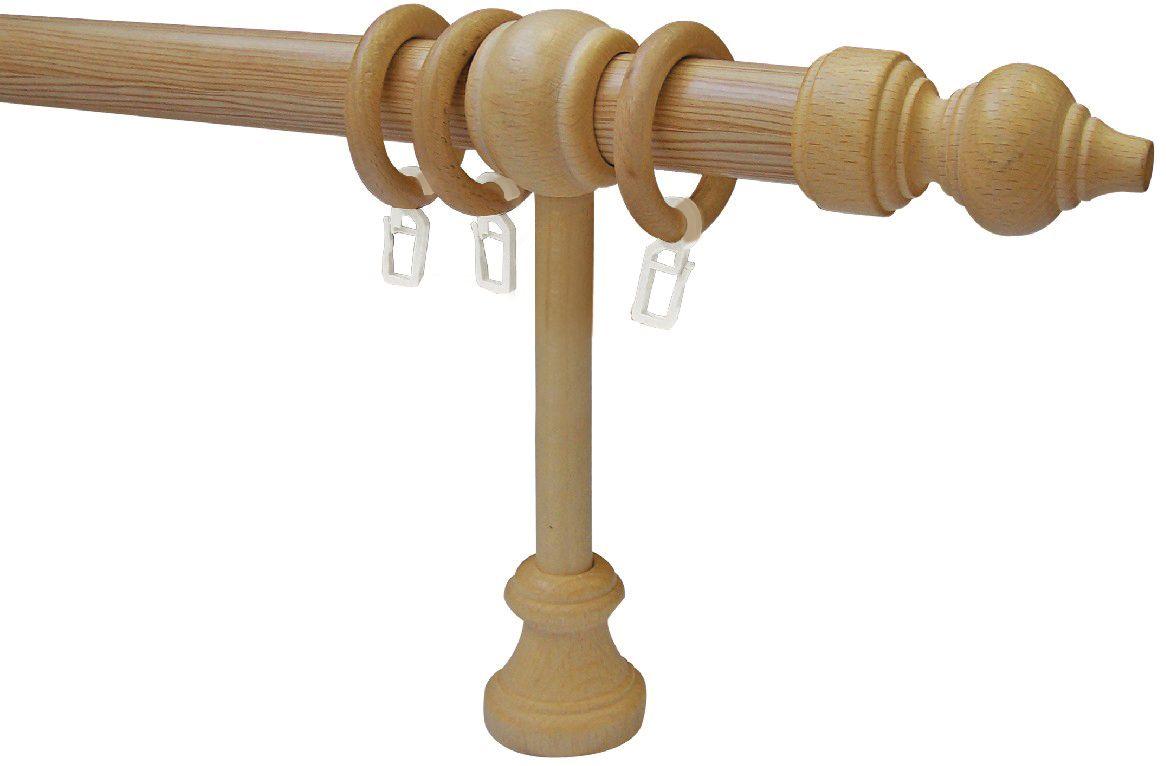Карниз Эскар Комби, однорядный, составной, цвет: сосна, длина 220 см карниз шинный потолочный эскар однорядный с аксессуарами цвет белый длина 150 см