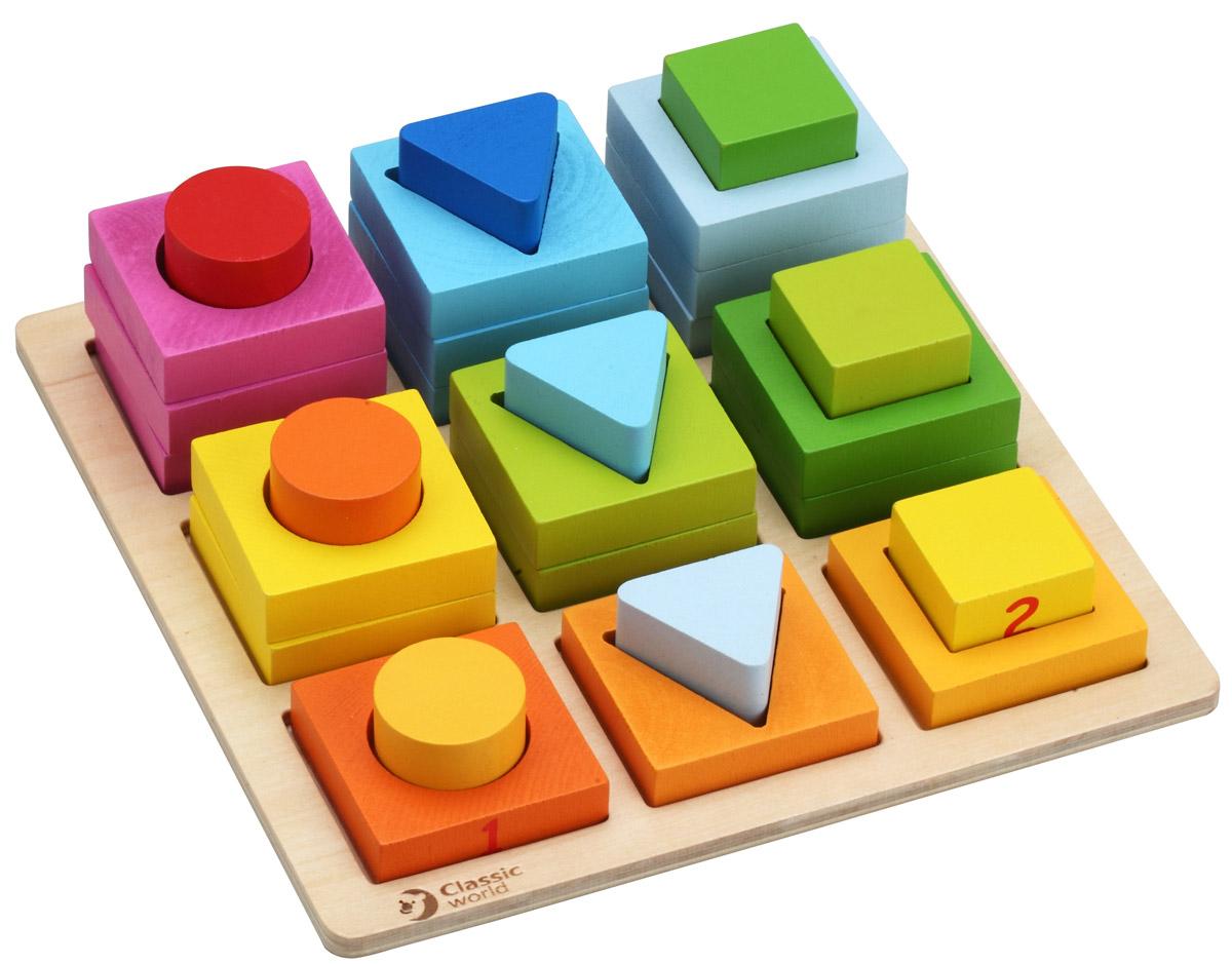 Classic World Сортер Геометрические блоки