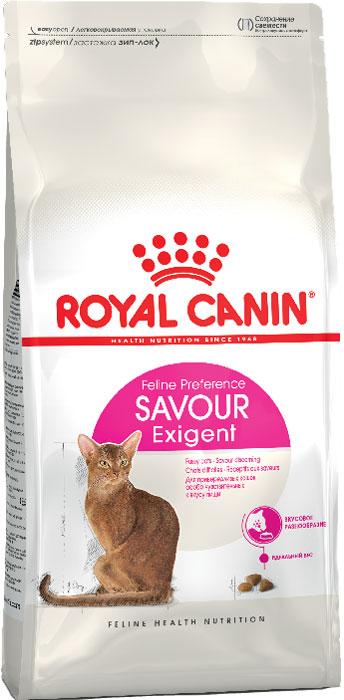 Корм сухой Royal Canin Exigent 35/30 Savoir Sensation, для кошек, привередливых к вкусу продукта, 10 кг корм royal canin exigent 35 30 400g для очень привередливых кошек 682004 682104