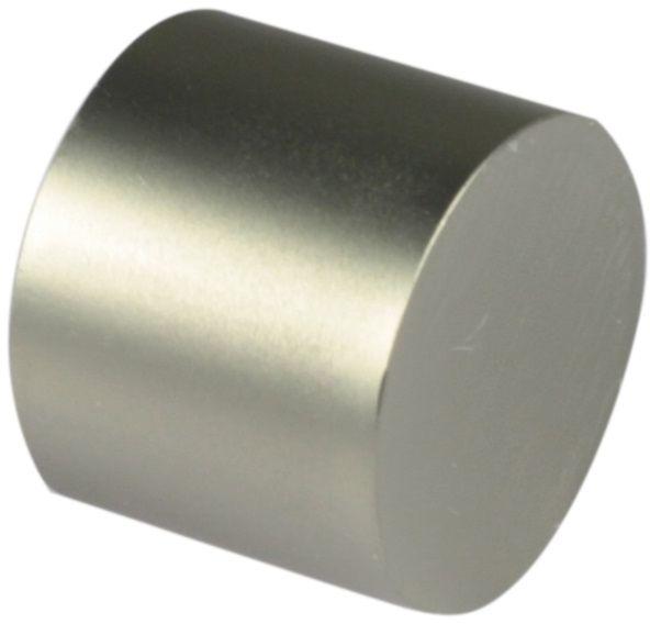 Наконечник-заглушка Эскар, для металлического карниза, цвет: матовый хром, диаметр 25 мм, 2 шт наконечник эскар кубок