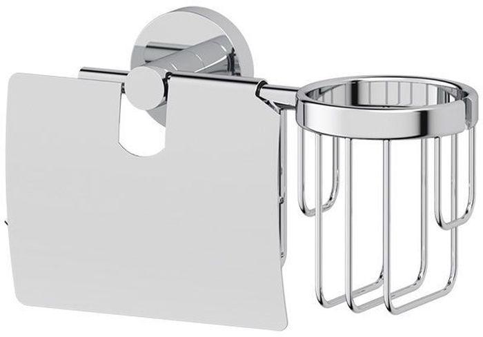 Держатель для туалетной бумаги и освежителя Artwelle Harmonie, с крышкой. HAR 051HAR 051Комбинированный держатель Artwelle Harmonie для освежителя и туалетной бумаги с крышкой выполнен из высококачественной хромированной латуни. Комбинирование позволяет сэкономить средства на приобретение двух аксессуаров, оптимизировать полезное пространство сантехнического помещения и минимизировать сверление отверстий под крепеж. Торговая марка Artwelle принадлежит компании Santech Allianz Gmbh. Универсальный дизайн аксессуаров позволяет дополнить практически любой интерьер, а широкий ассортимент предоставляет свободу выбора. Надежность конструкции, профессиональное крепление и прочность покрытия позволяют использовать изделия не только в домашних условиях, но также и в общественных местах, включая отели. В производстве коллекций используются материалы высокого качества, что обеспечивает долговечность изделий.