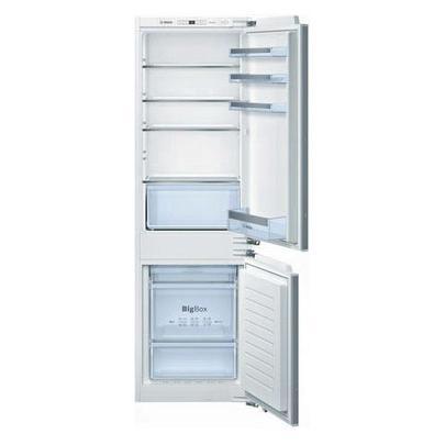 Bosch KIN86VF20R холодильник встраиваемыйKIN86VF20RГабариты (вхшхг) (см): 177х54х54 Объем холодильника (л): 255 Объем холодильной камеры (л): 188 Объем морозильной камеры (л): 67 Климатический класс: SN-ST (от +10°С до +38°С) Цвет: белый Страна-производитель: Германия Крупногабаритный товар.