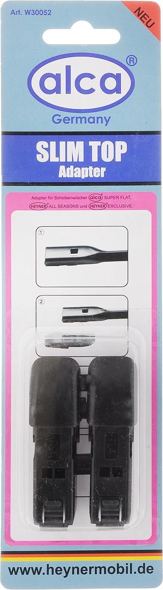 Адаптер для щеток Alca Slim top, 2 шт адаптеры для щеток стеклоочистителя rekzit tl c верхним замком 2 шт
