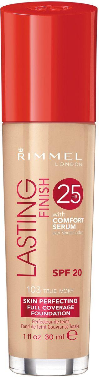 Тональный крем Rimmel Lasting Finish Comfort Found, тон 103, 30 мл недорого