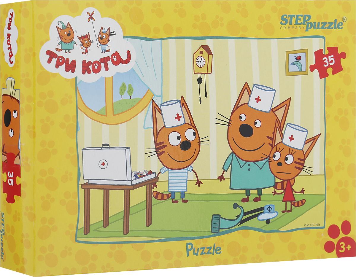 цена на Step Puzzle Пазл для малышей Три кота 91150