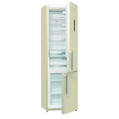 Двухкамерный холодильник Gorenje NRK6201MC-0, бежевый