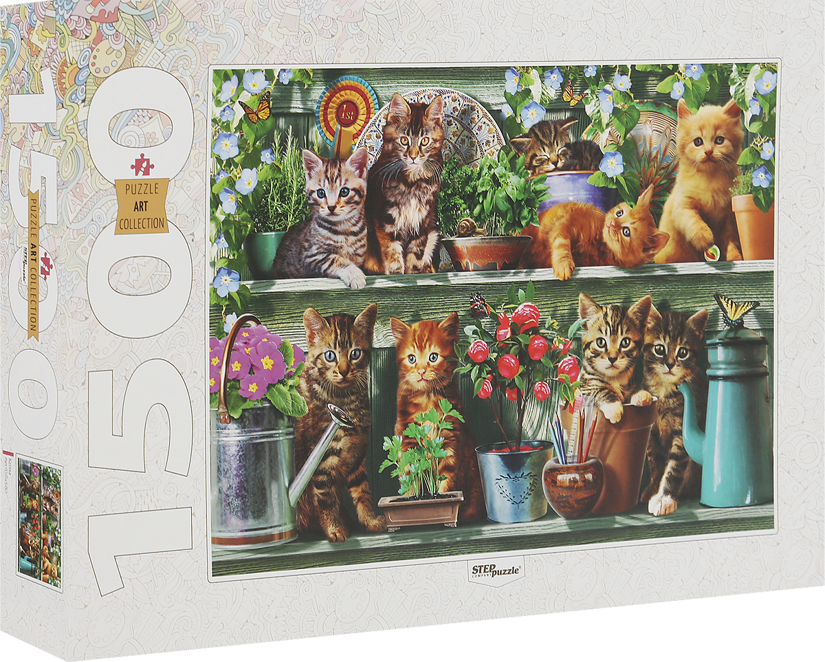 Step Puzzle Пазл Котята 83057 step puzzle котята 1500 шт