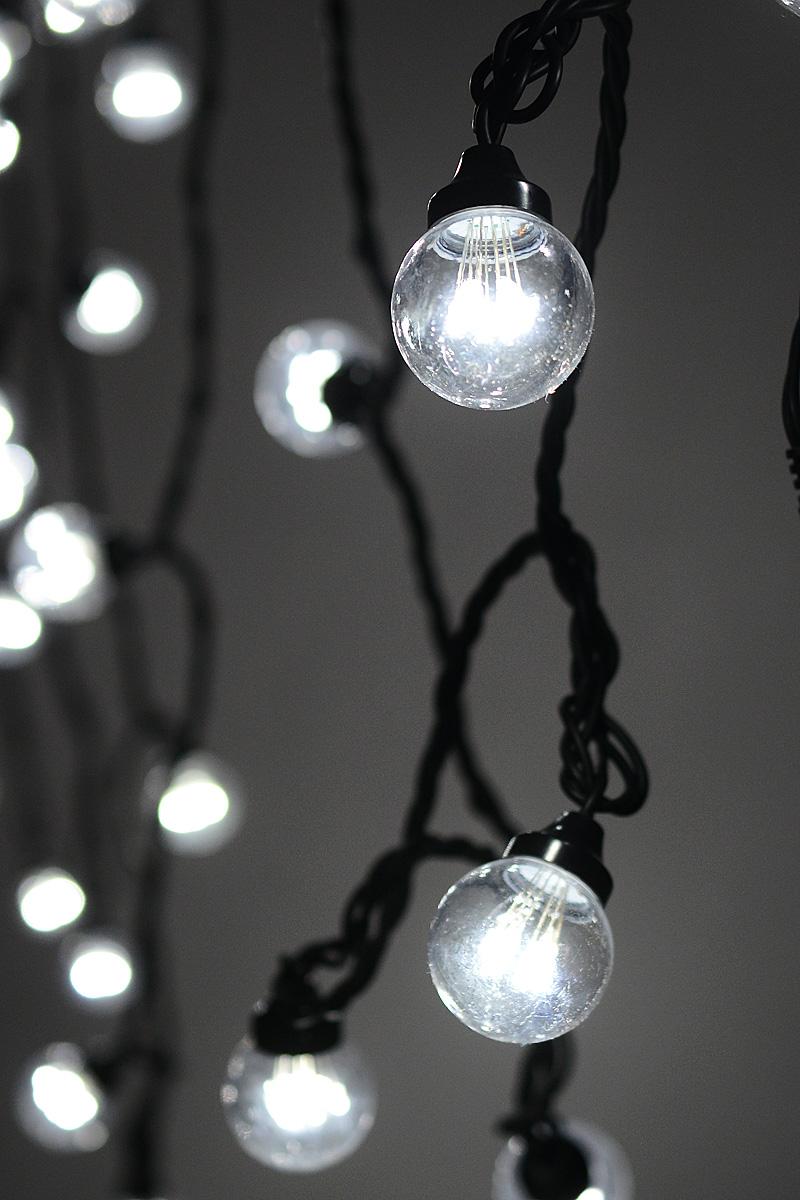 Гирлянда электрическая Neon-Night LED Galaxy Bulb String, 30 ламп х 6 светодиодов, 10 м гирлянда neon night galaxy bulb string светодиодная влагостойкая 30 ламп х 6 led каучуковый провод цвет черный зеленый 10 м