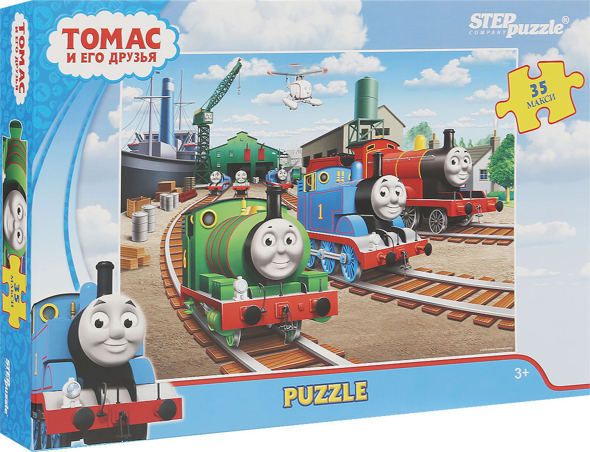 Step Puzzle Пазл для малышей Томас и его друзья 91223 step puzzle пазл для малышей тачки 89122