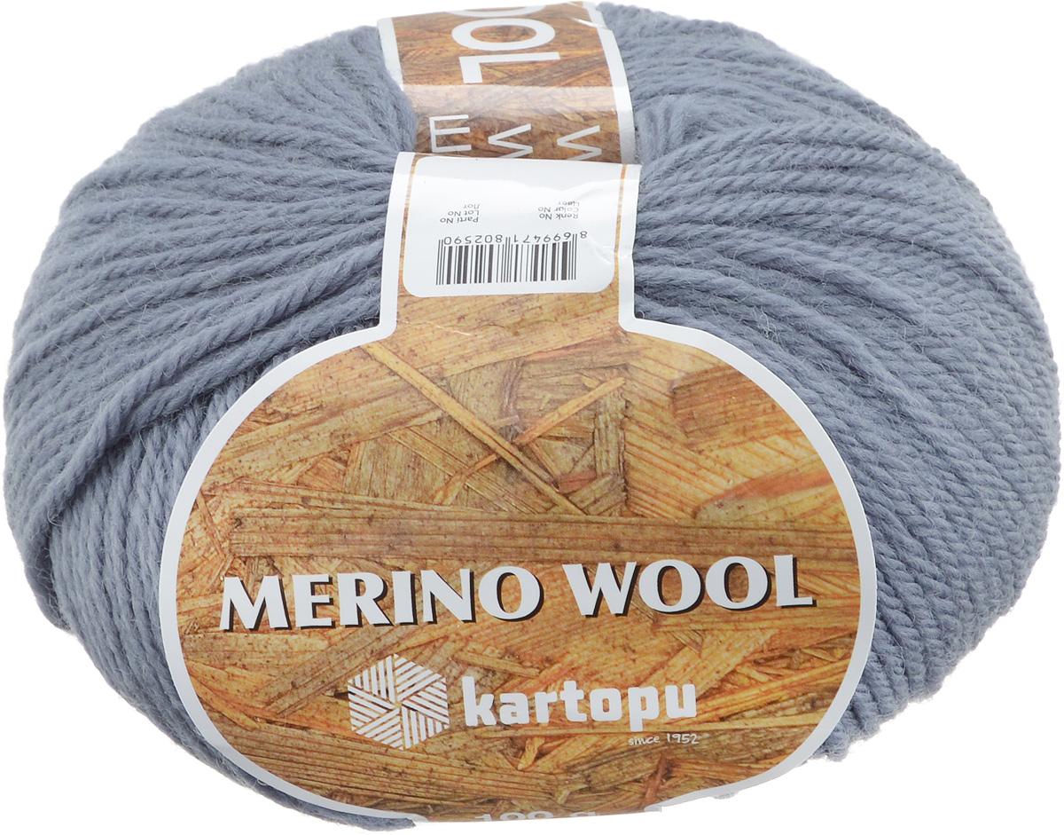Пряжа для вязания Kartopu Merino Yun, цвет: серо-синий (K924), 170 м, 100 г, 5 шт7718710_K924Пряжа Kartopu Merino Yun изготовлена из мягкой и высококачественной натуральной шерсти. Из такой пряжи получается тонкий и теплый трикотаж. Волокно имеет высокую упругость, поэтому хорошо держит форму, обладает высокой гигроскопичностью и отводит влагу от тела. С такой пряжей для ручного вязания вы сможете связать своими руками необычные и красивые вещи. Состав: 100% шерсть. Рекомендуем!