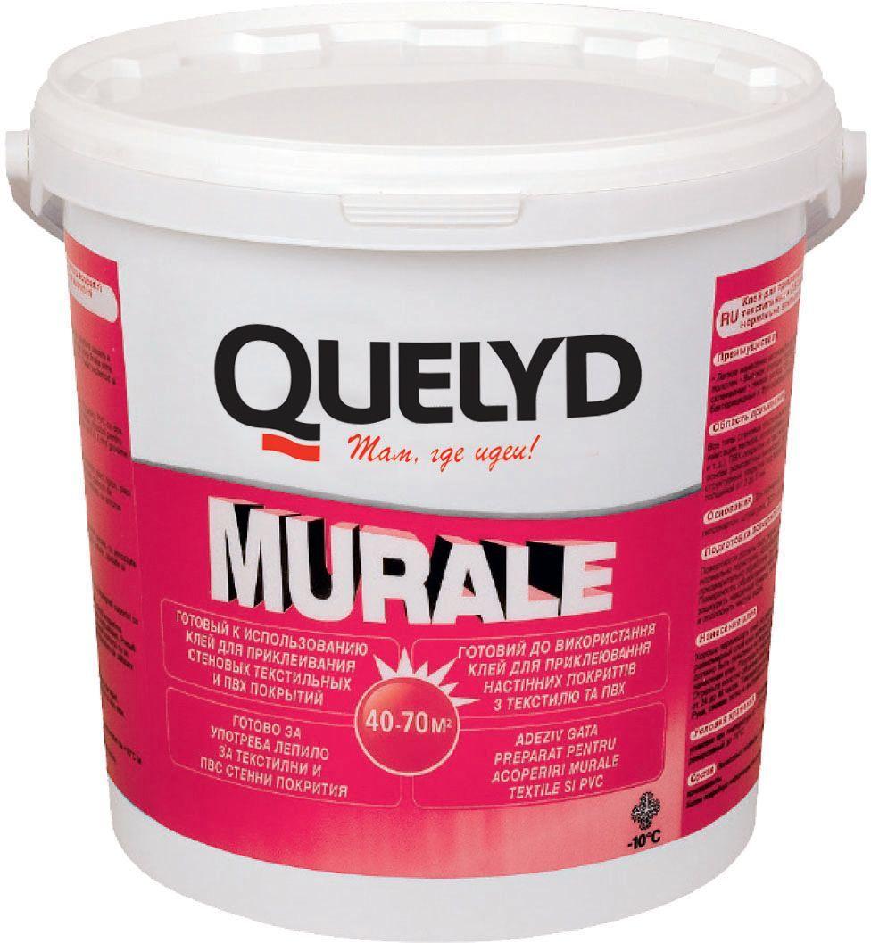 цена на Клей для настенных покрытий Quelyd Murale, 5 кг