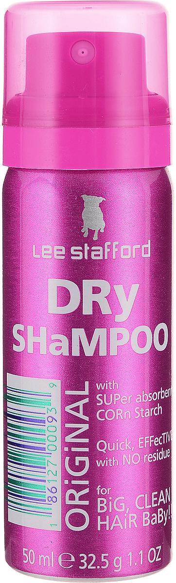 Lee Stafford Сухой шампунь для волос Poker Straight, 50 мл