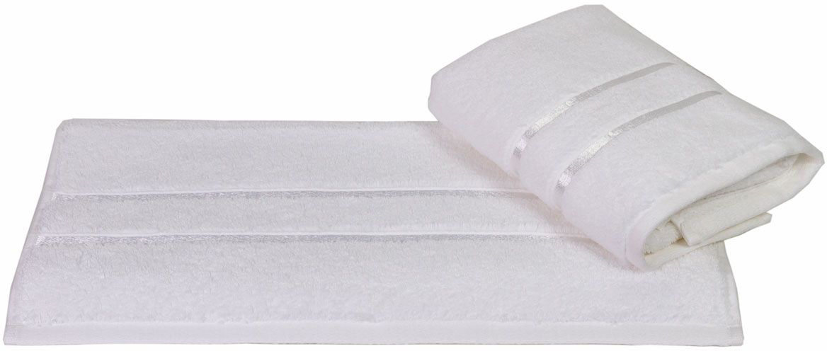 """Полотенце махровое Hobby Home Collection """"Dolce"""", цвет: белый, 30 х 50 см"""