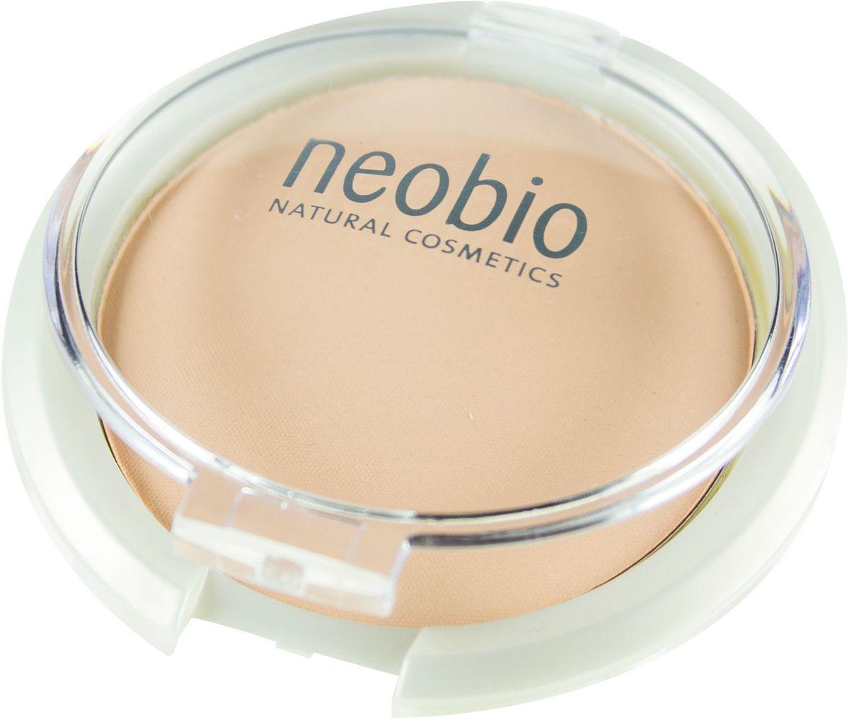 Neobio Компактная пудра, тон № 01 (светло-бежевый), 10 г