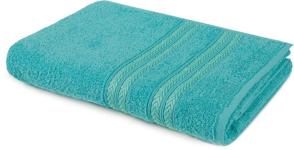 Полотенце Aquarelle Адриатика, цвет: морская волна, 70 х 140 см полотенце махровое aquarelle волна цвет ваниль 70 x 140 см
