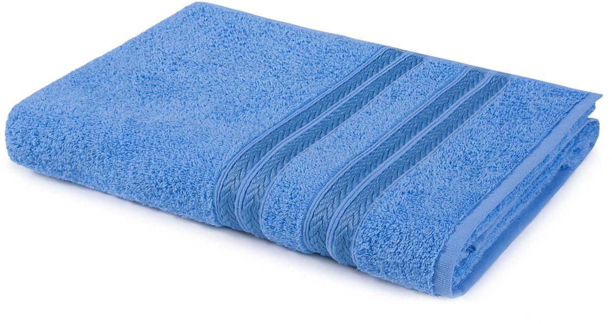 Полотенце Aquarelle Адриатика, цвет: синий, 70 х 140 см полотенце махровое aquarelle волна цвет ваниль 70 x 140 см