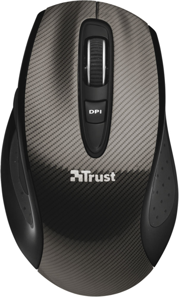 цена на Мышь Trust Kerb Wireless Laser Mouse, Black