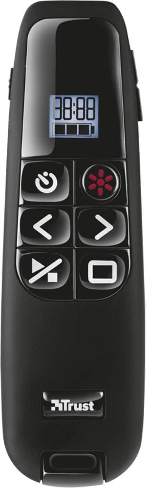 Пульт для презентаций Trust Elcee Wireless Presenter, Black все цены