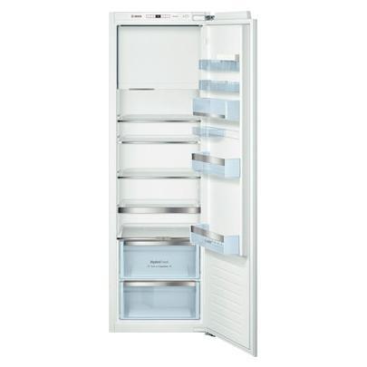 Холодильник Bosch KIL 82 AF 30 R, встраиваемый, однокамерный, белый встраиваемый холодильник bosch kur15a50ru белый