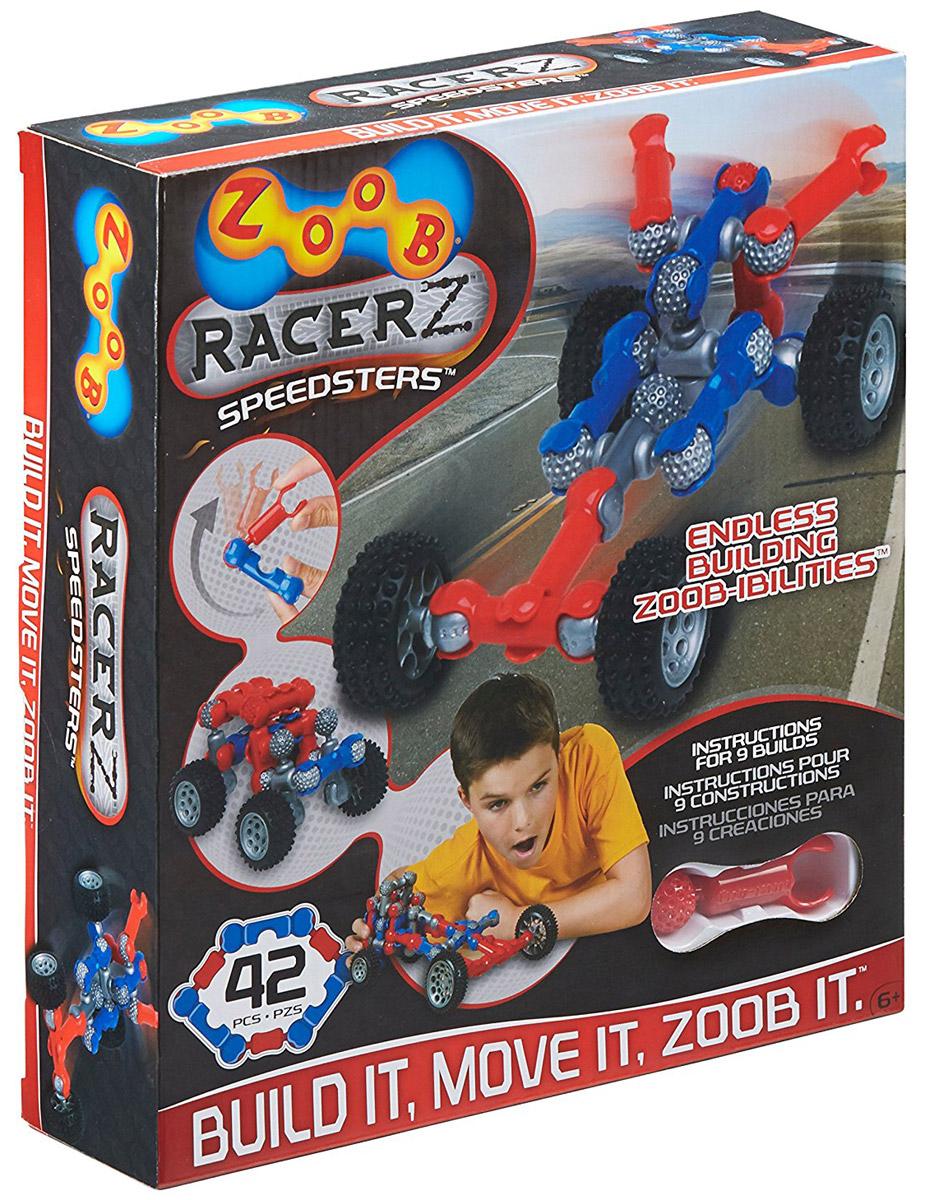 Zoob Конструктор Racer zoob конструктор zoob racer z car designer 76 деталей