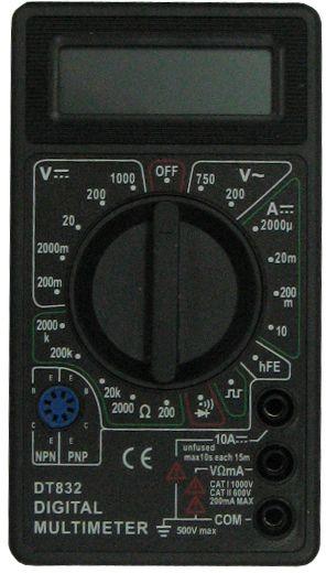 Мультиметр ТЕК DT 832