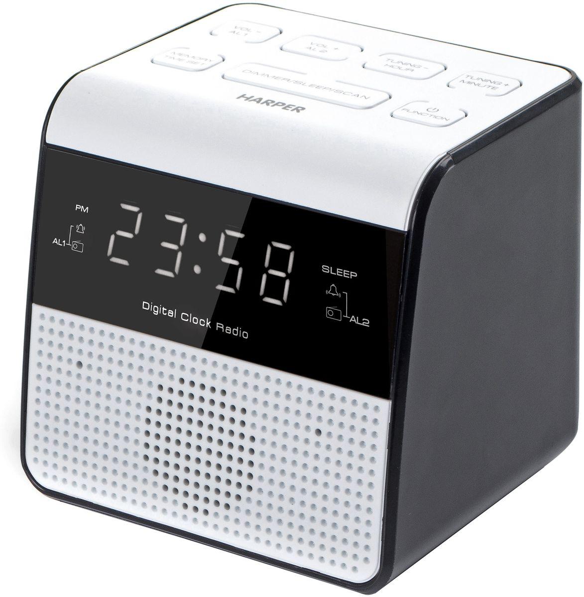 лучшая цена Радио-будильник Harper