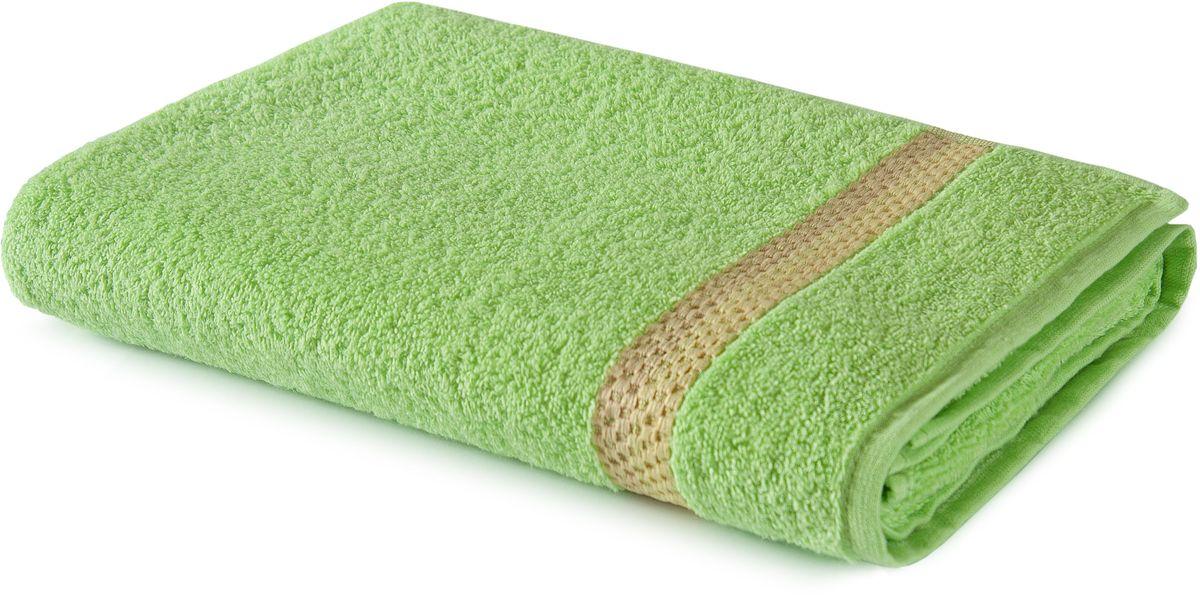 Полотенце Aquarelle Глициния, цвет: светло-зеленый, 70 х 140 см полотенце aquarelle глициния цвет ваниль 70 х 140 см
