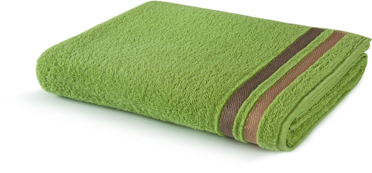 Полотенце Aquarelle Исландия, цвет: травяной, 70 х 140 см полотенце aquarelle стамбул цвет белый травяной 70 х 140