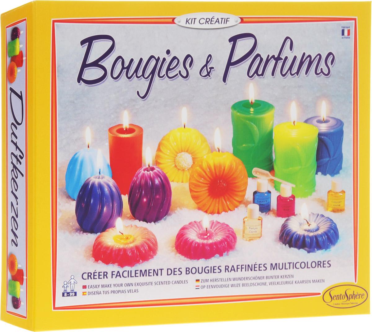SentoSphere Набор для изготовления парфюмированных свечей sentosphere набор для изготовления косметики свежие ароматы