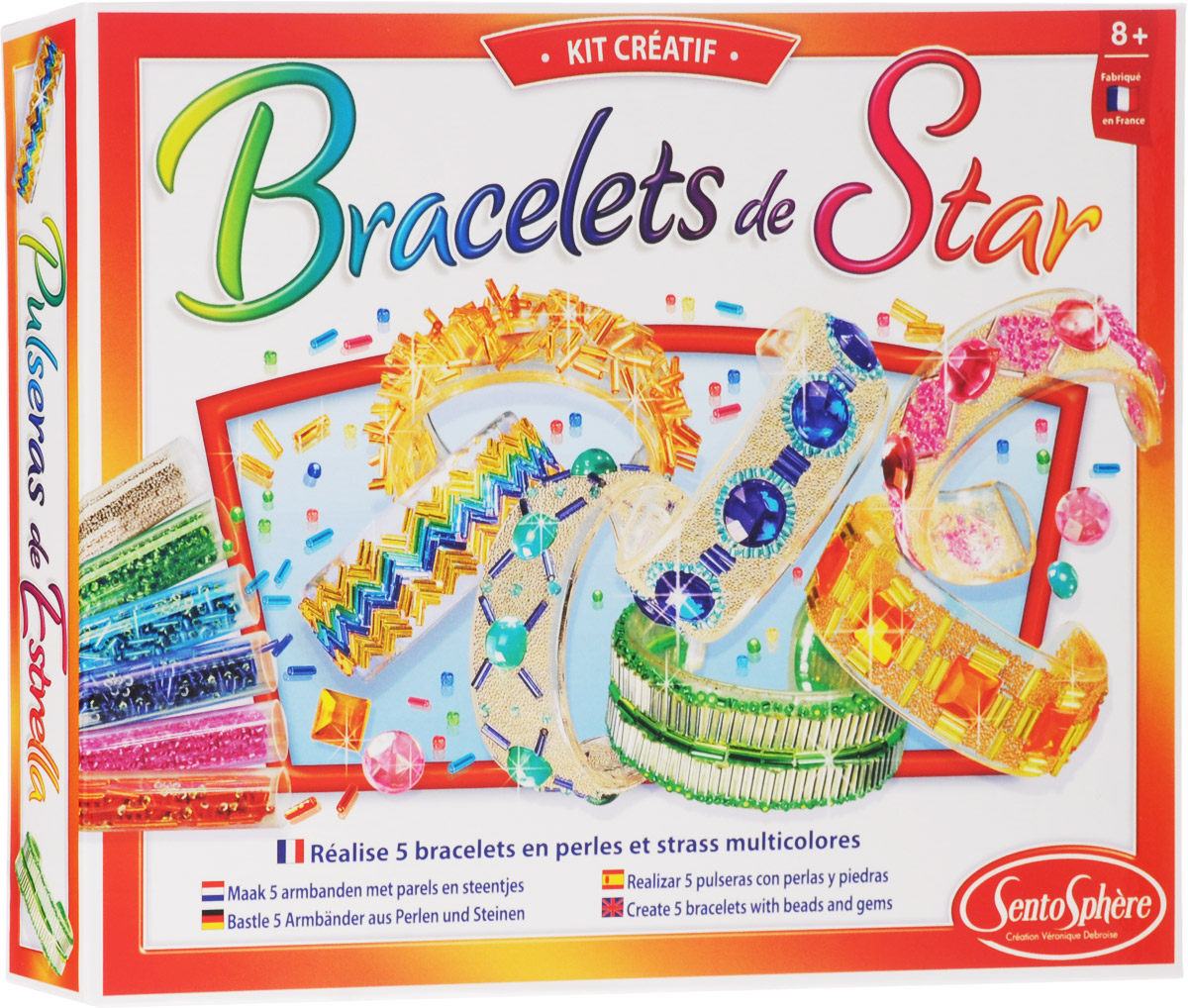 SentoSphere Набор для создания украшений Bracelets de Star