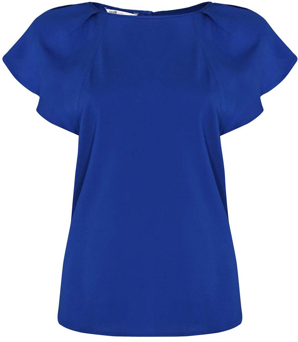 Блузка oodji карамелли карамелли блузка для школы с крылышками белая
