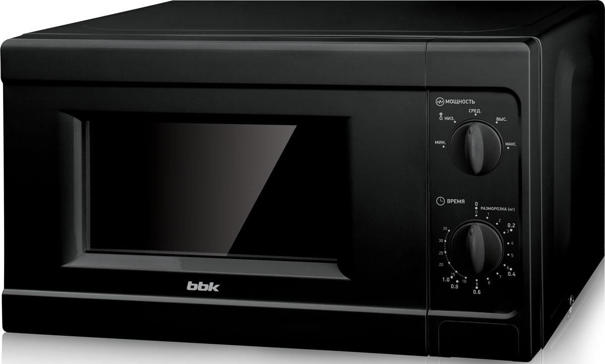 BBK 20MWS-709M/B, Black СВЧ-печь