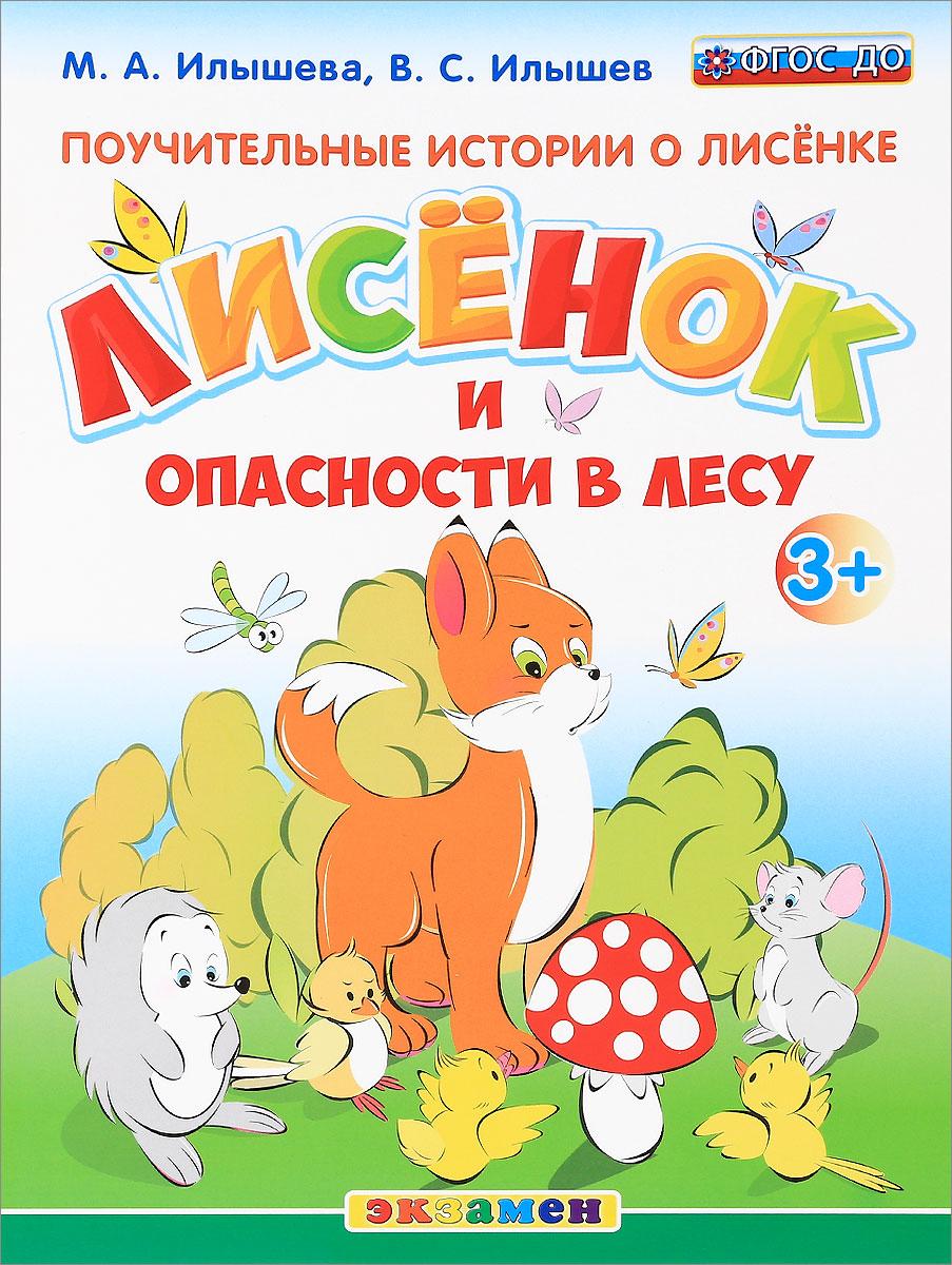 Поучительные истории о лисёнке. Лисёнок и опасности в лесу. М. А. Илышева, В. С. Илышев