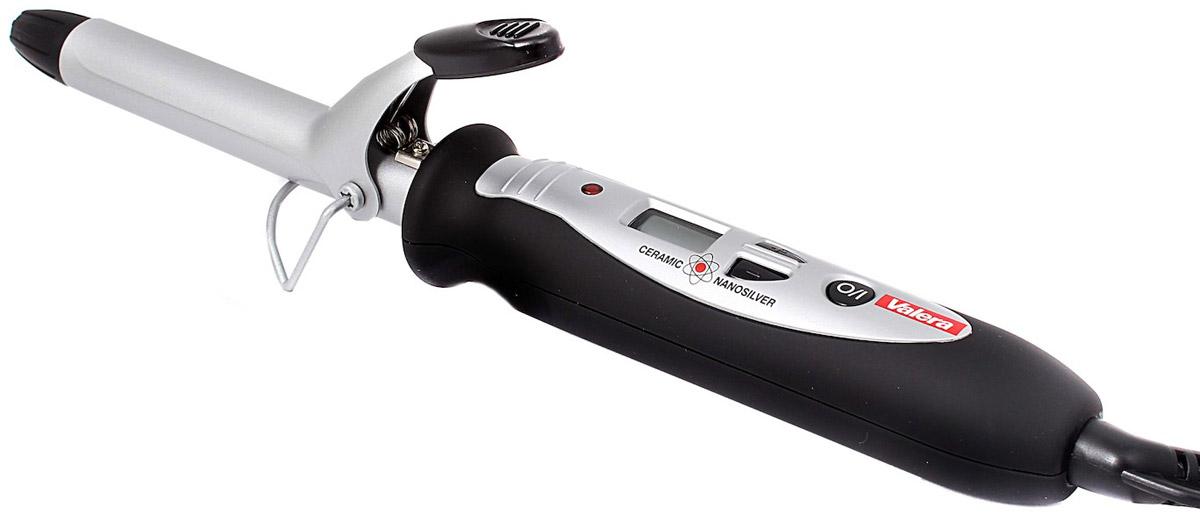 Valera 641.19 DigiCurl, Black щипцы для завивки волос щипцы для укладки волос valera 647 03 triple barrel wave