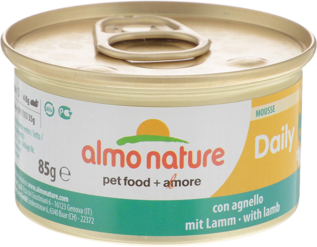 """Консервы для кошек Almo Nature """"Daily Menu"""", мусс с ягненком, 85 г"""