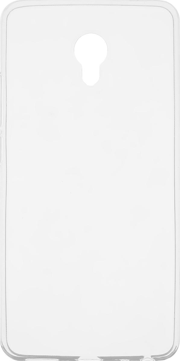 Skinbox Slim Silicone чехол для Meizu Pro 6, Transparent